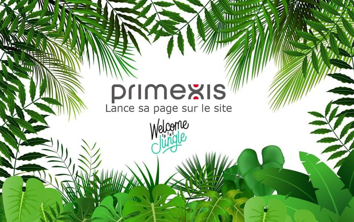 Primexis lance sa page sur Welcome to the Jungle